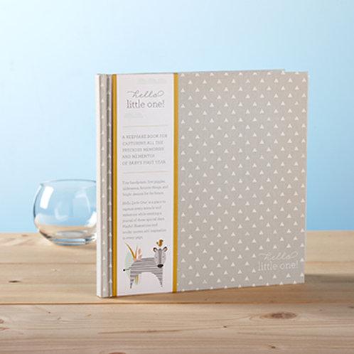Hello Little One! Baby Journal