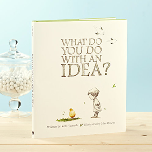 Gift children's books, Unique children's Gifts, What do you do with an idea?