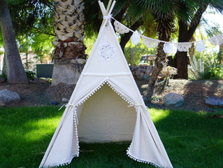 White Teepee Now In Store