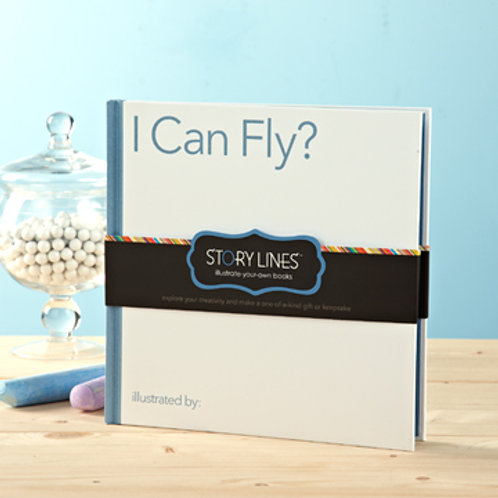 I can Fly?  Illustrate Your Own Book