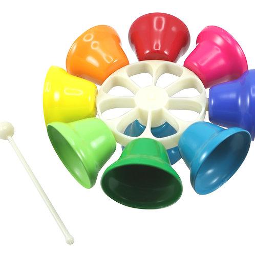 Rainbow Musical Spinning Bells
