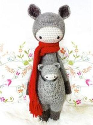 Kira The Kangaroo - Crochet Kangaroo & Joey