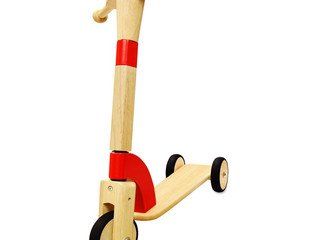 Debut Wooden Scooter by I'm Toy