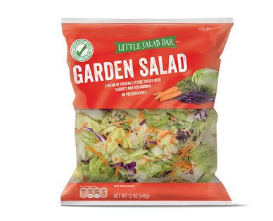 Recall on Aldi Bagged Salad