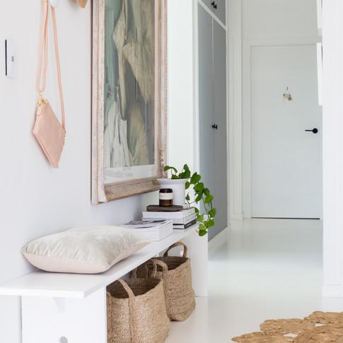 Entry + Hallway