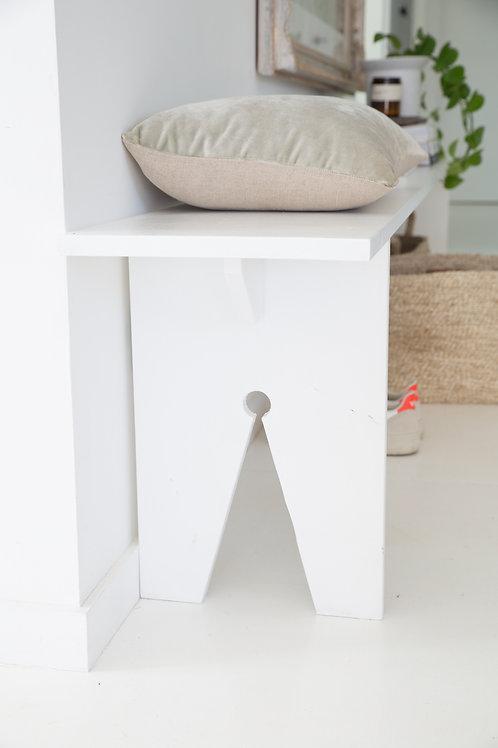 Classic Bench - White