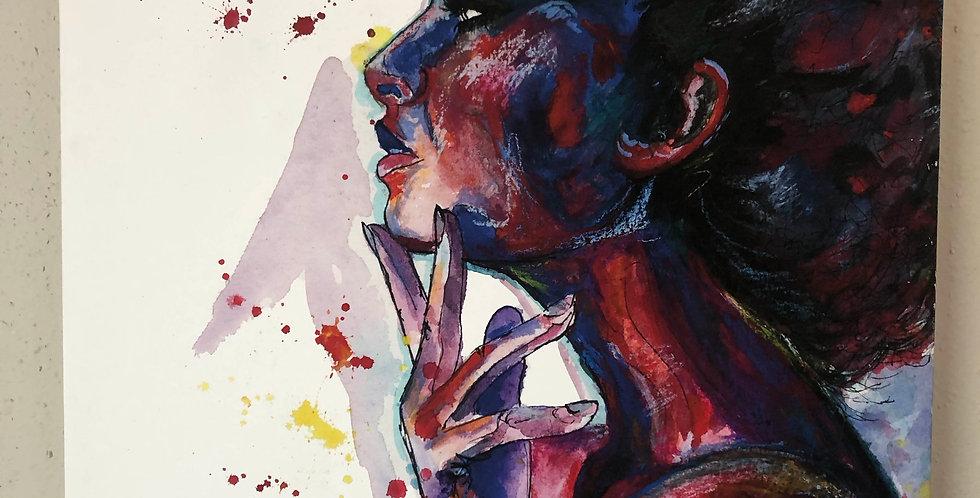 Frigg Canvas Print