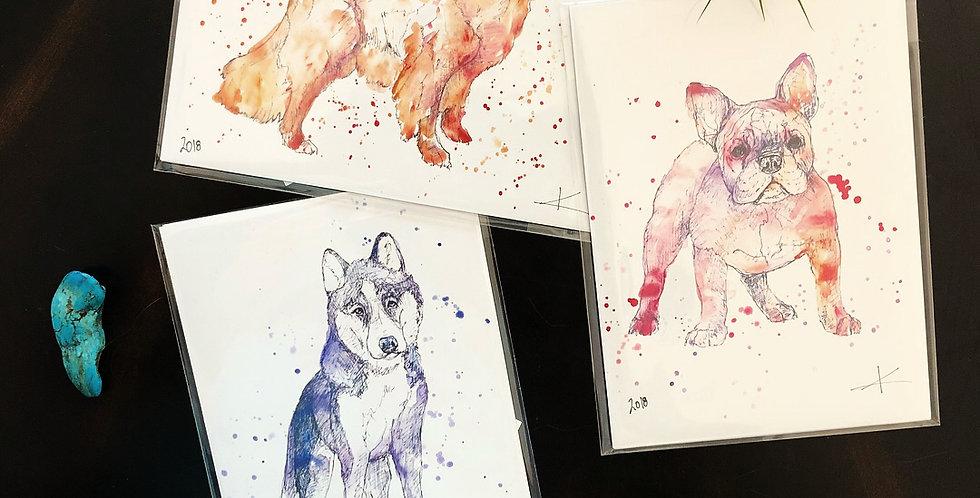 Dog Card Pack