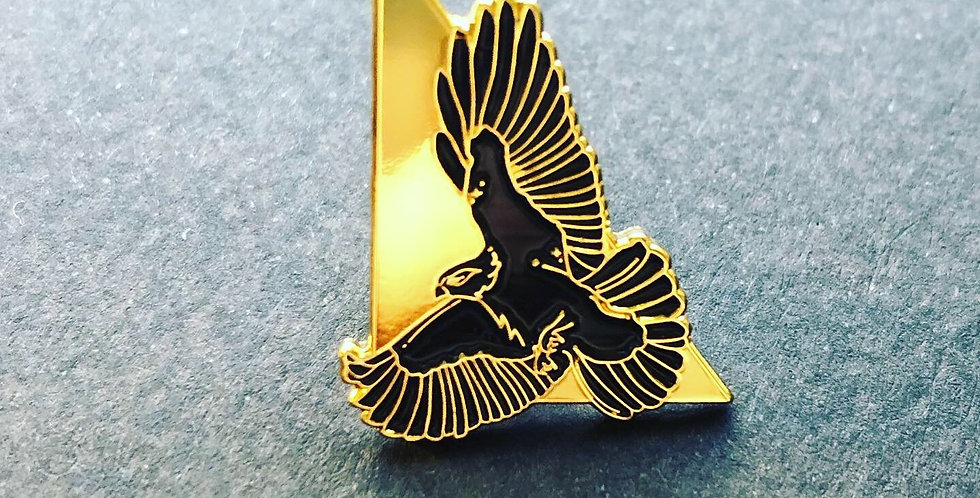 Hawk Enamel Pin