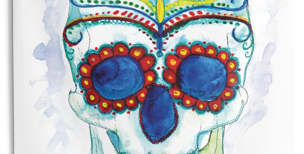 Sugar Skull 2 Tapestry