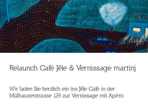 Vernissage und Neujahrsapéro im Jêle Café