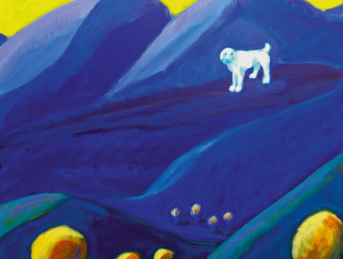 2012 white dog