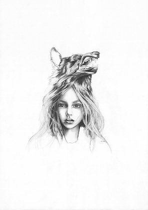 La Loba (Wolf Girl)Kindred Spirit Series