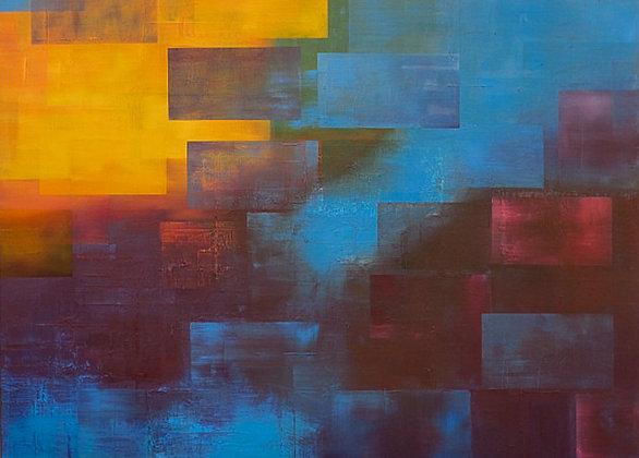 Pixels Paused 12 (Ultraviolet)