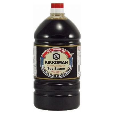 Kikkoman Soy Sauce 3L Fancy