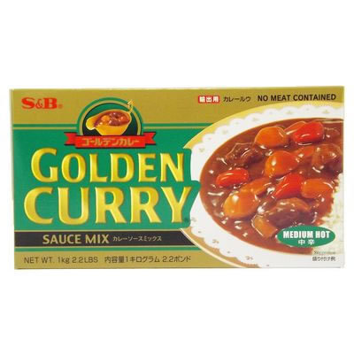 SB Golden Curry Medium Hot 1kg