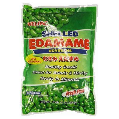 Wp Mukimi Edamame Soybean Without Shell 454G