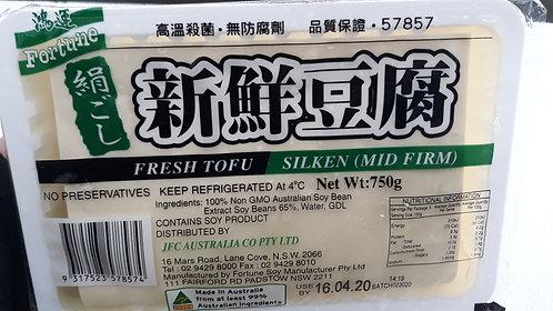 JFC Mid Firm Tofu 750G