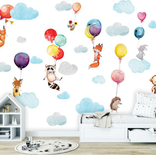 Mural Happy sky