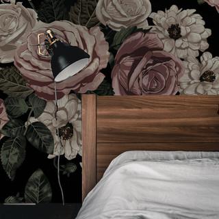 N. Roses black