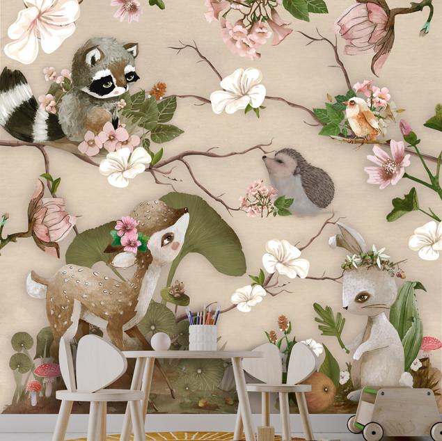 Mural Bosque Alegría