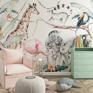 Mural Selvatic life
