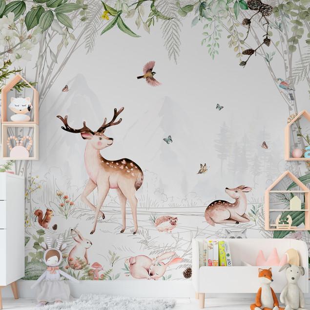 Mural Bosque en Paz