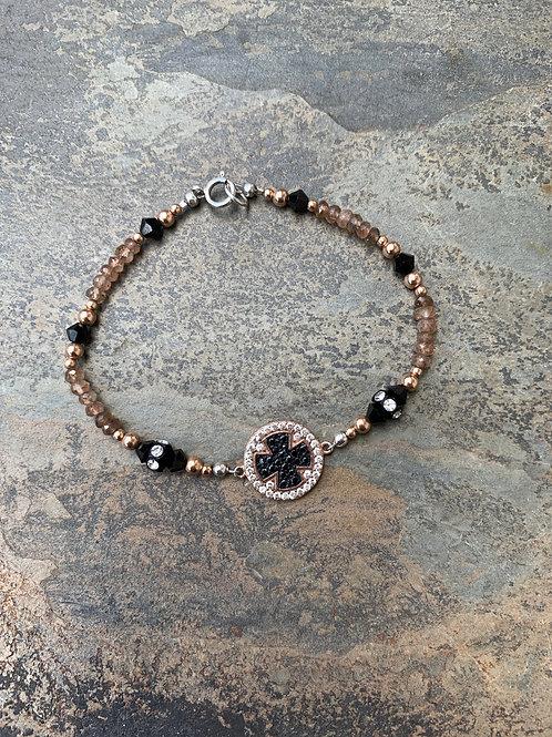 Andalusite Maltese Bracelet