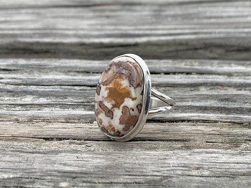 RARE- Copper Agate Ring