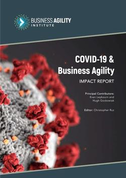 BAI - COVID19 Impact Report 2021