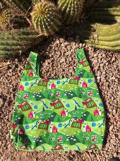On the Farm Reusable Shopping Bag