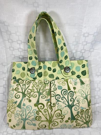 Trees and Leaves Shoulder Bag