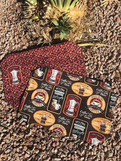 Coffee Reversible Placemats