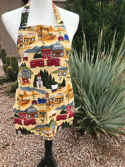 Kid Size Stagecoach Full Apron
