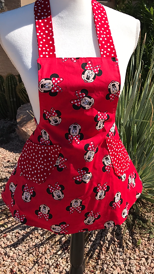 Kids/Toddlers Size Minnie Mouse Full Apron