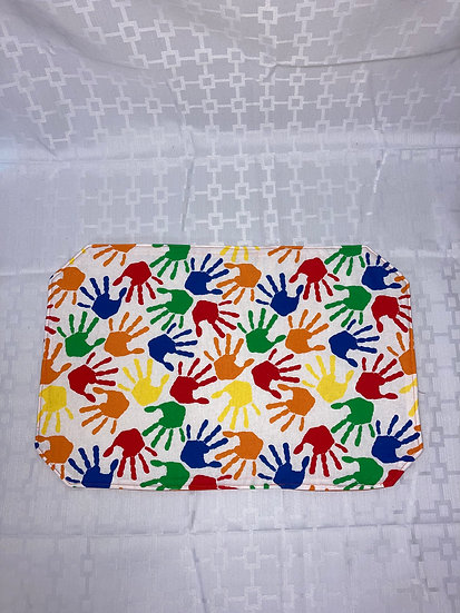 Painted Hand Placemat