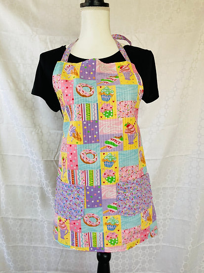 Kids Size Sweet Treats Full Apron