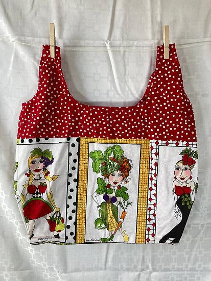 Cornelia Veggie Ladies Reusable Shopping Bag