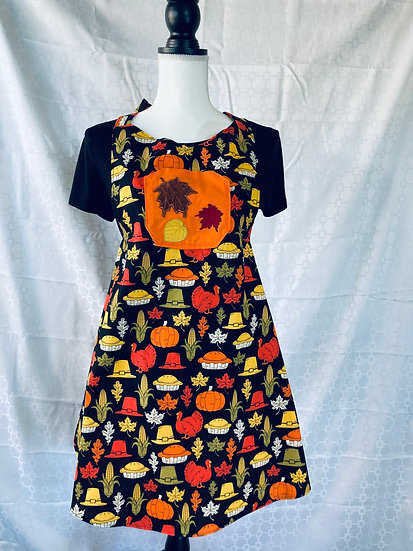 Adult Size Thanksgiving Feast Full Apron