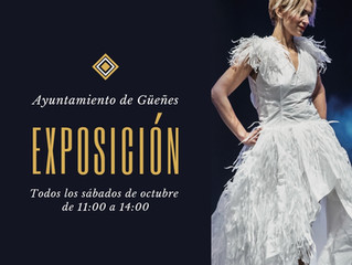 Exposición de Vestidos de Papel y visita al Ayuntamiento de Güeñes