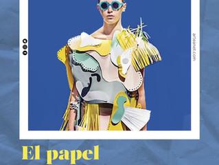 Exposición y desfile de Vestidos de Papel en Artea (del 4 al 26 de mayo)