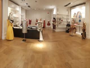 Exposición de Vestidos de Papel en Max Center (Barakaldo)