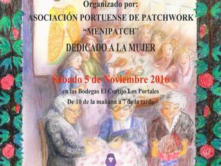 """La Asociación Portuense """"MENIPATCH"""" invita a """"SOINEKO"""" al encuentro de Patchwork"""