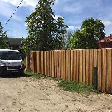 Zaun, Boden-Deckel-Schalung