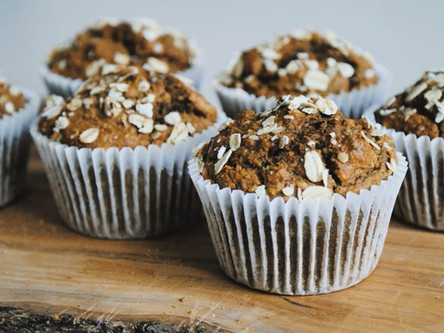 Banana and Coffee Breakfast Muffins