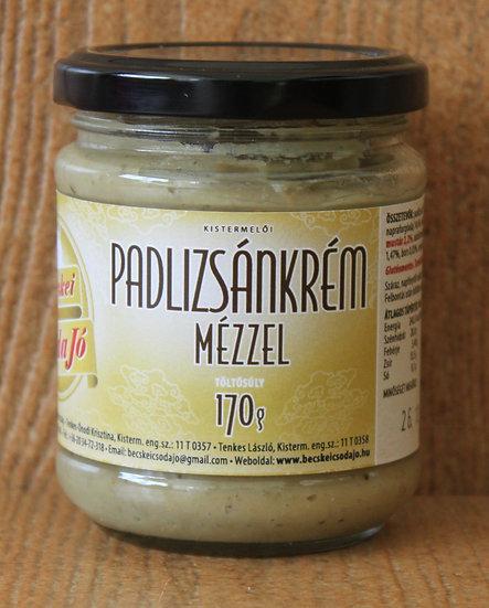 Padlizsánkrém mézzel (170 g)