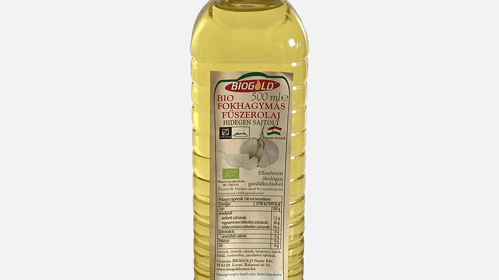 Bio Fokhagymás fűszerolaj 500ml