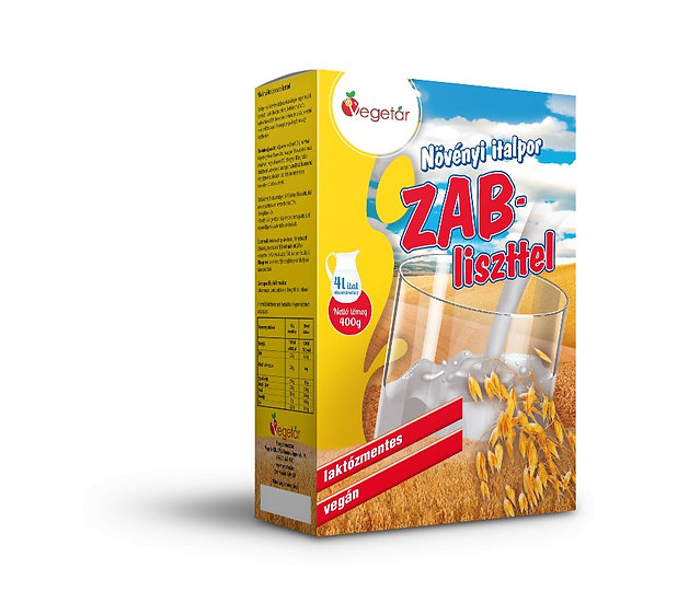 Zab italpor  350g- növényi tejpor
