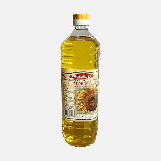 Bio Napraforgóolaj hidegen sajtolt Szagtalanított 1000ml