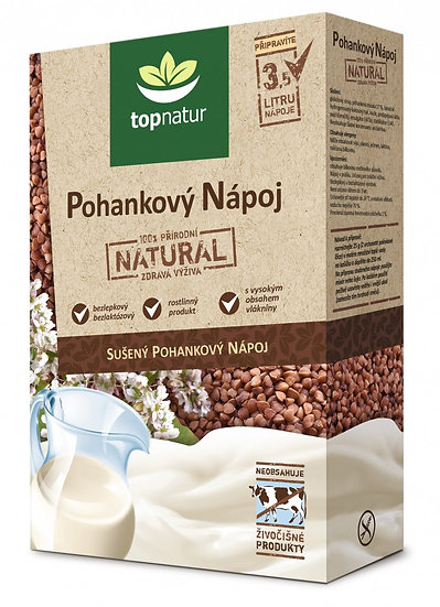 Hajdina italpor 350g - növényi tejpor